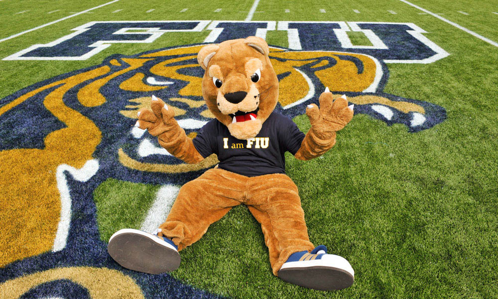 Florida International University (FIU) mascot, Roary.